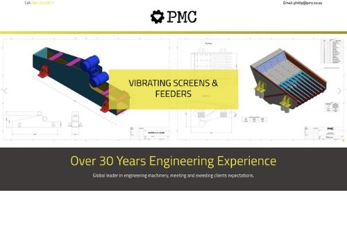 PMC - Vibrating Screens & Feeders