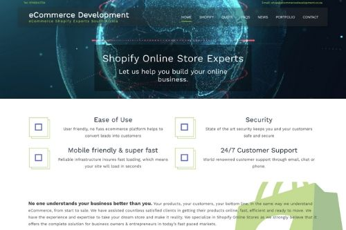 Ecommerce Development South Africa | Shopify Store Design Experts