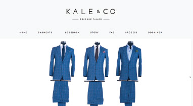 Kale & Co Bespoke Custom Tailored Suits
